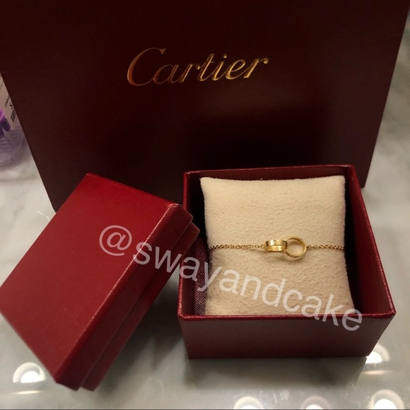 Cartier LOVE bracelet chain - yellow